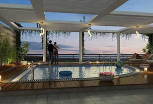 Terrace Pool View 1