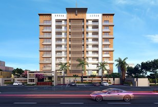 Front View - Upasna 5th Avenue 1