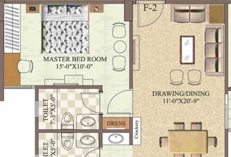 2 Bhk Flat in Pamposh Jawahar Circle,Jaipur