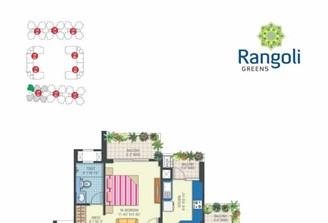 2 Bhk Flat in Rangoli Greens Vaishali Nagar,Jaipur