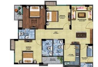 3 Bhk Flat With Servant Room in Square Arcade Jaisinghpura,Jaipur