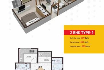 2 Bhk Flat prop gallery