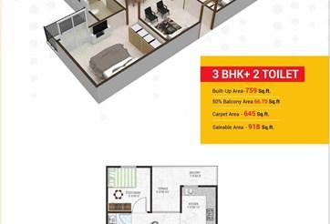 3 Bhk Flat prop gallery